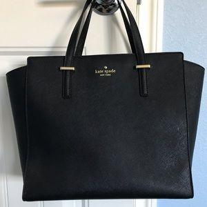 Kate Spade medium black satchel